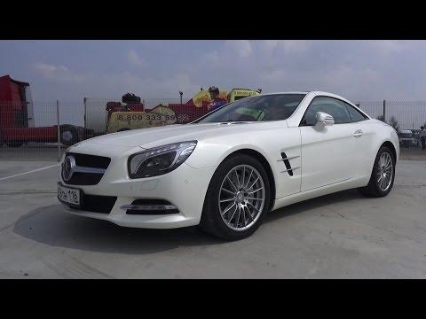 2014 Mercedes-Benz SL500 (R231). Start Up, Engine, and In Depth Tour.