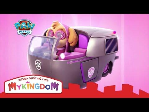 Đồ chơi mô hình Paw Patrol - Những chú chó cứu hộ