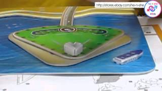Burj Al Arab 3D Puzzle-Video demo tutorial now ready!