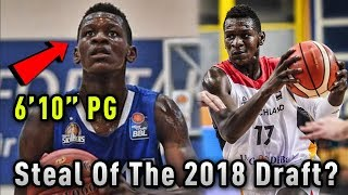 The 6 Foot 10 POINT GUARD Who Could Be The Biggest STEAL Of The 2018 Draft!