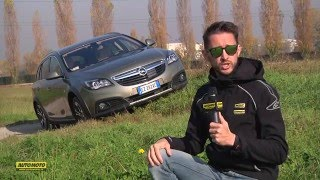 Opel Insigna CountryTourer: test drive