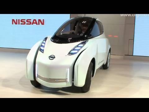 Nissan Land Glider Tokyo Motor Show 2009 Diginfo Youtube