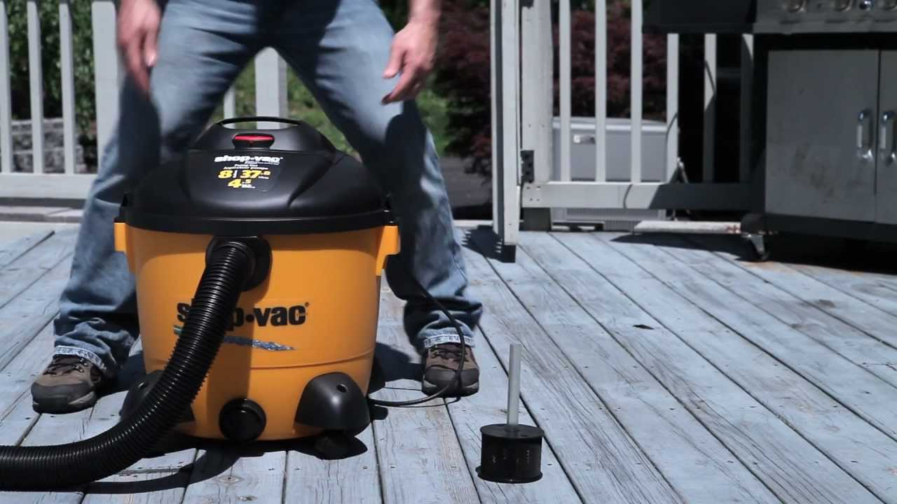 Shop Vac Wet Amp Dry Pump Vac From Canadian Tire Youtube