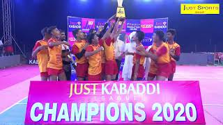 Just kabaddi league Live Match Day 11