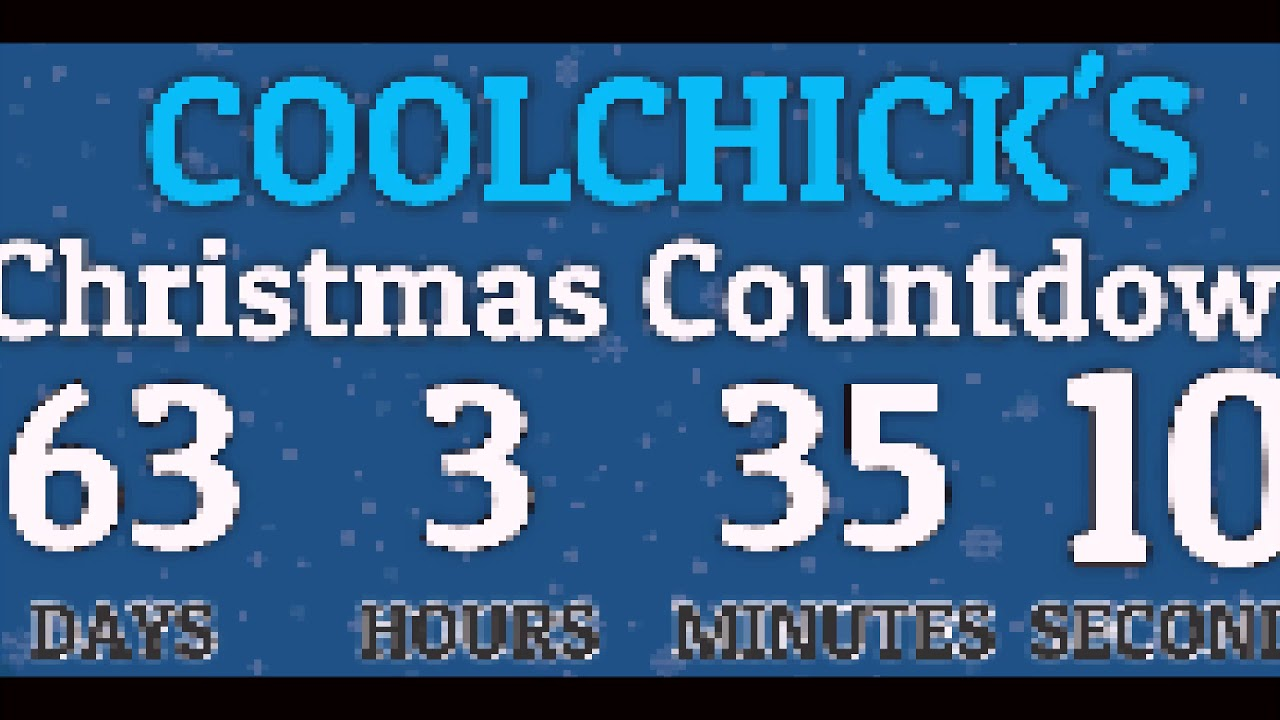 How Many Days Till Christmas 2017 - YouTube