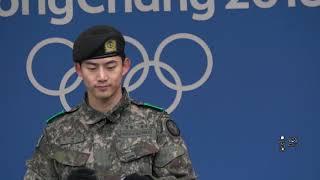 180219 평창올림픽 헤드라이너쇼 리허설 2PM - 옥택연