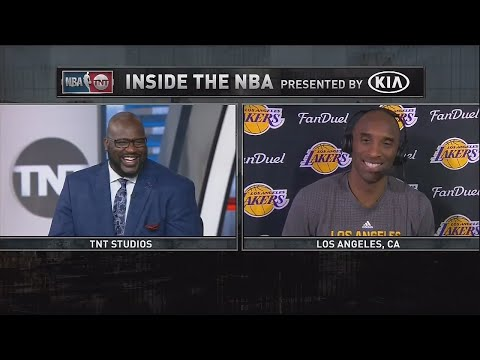 Inside the NBA: Kobe Bryant Interview | March 22, 2016 | NBA 2015-16 Season