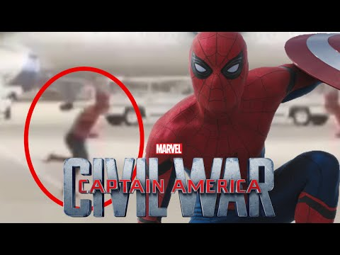More Spider-Man Footage in International Captain America: Civil War T.V Spot