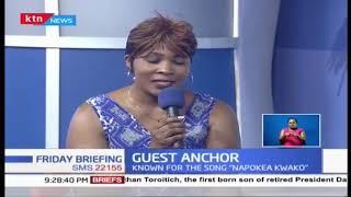 Guest Anchor: Today we host Janet Otieno, gospel artiste