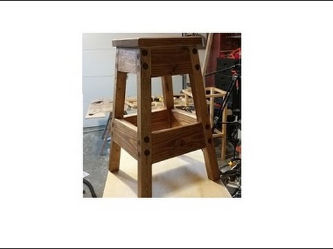 Home made Stool for the woodworking shop