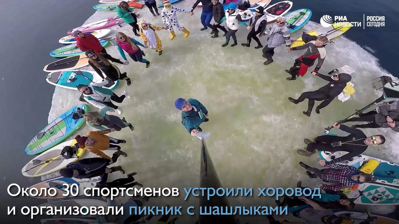 SUP-серферы - YouTube