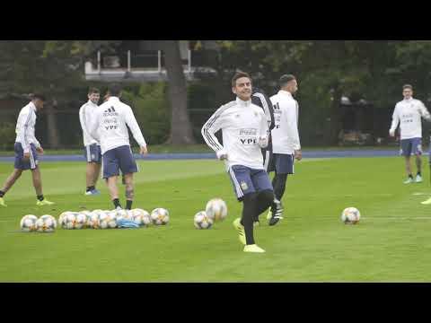 #SelecciónMayor ¡Primer entrenamiento en Dortmund!