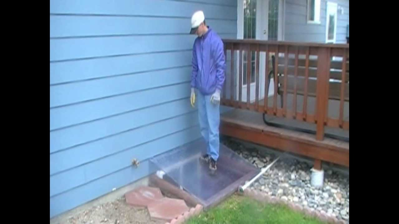Montana Ag Plastics Egress Window Well Cover Test Wmv
