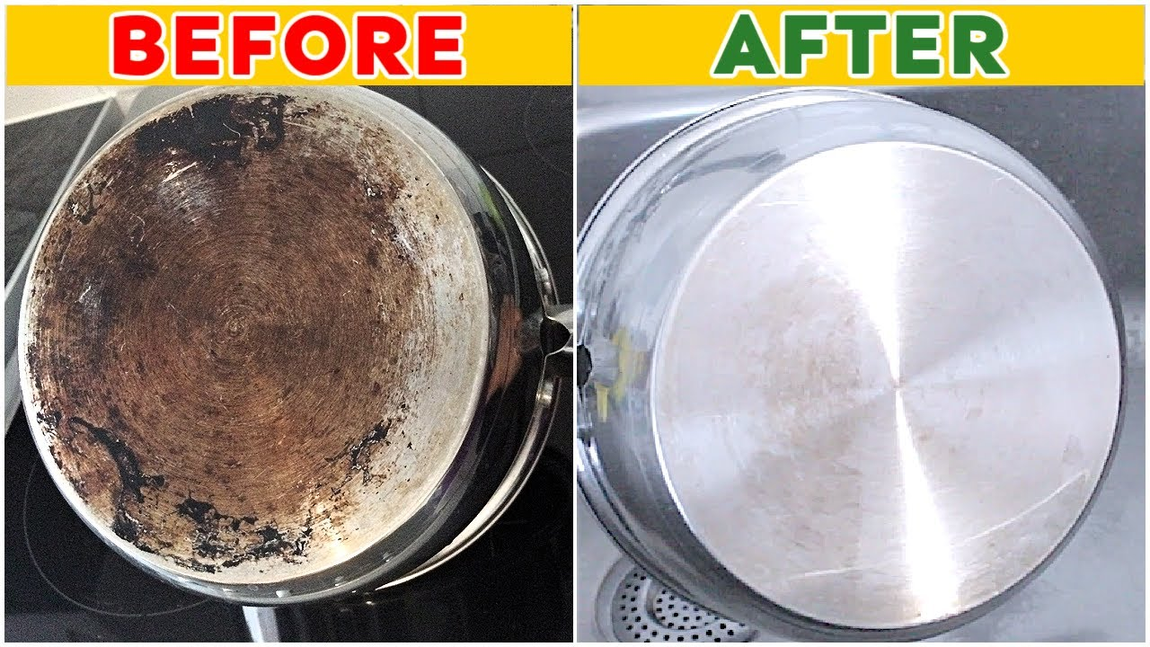 How To Clean The Bottom Of A Pot Or Pan Your