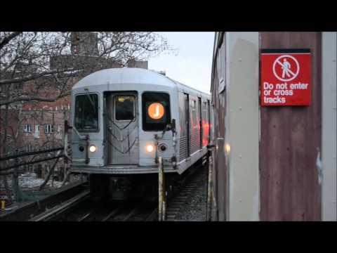 A, C, J, L, & Z Trains at Broadway Junction