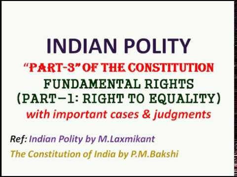 Indian Polity   Fundamental Rights   Indian Polity by Laxmikanth   UPSC preparation   Polity notes