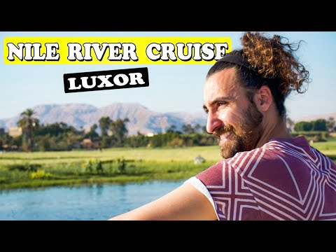 Getting old in Egypt - Nile river cruise 🇪🇬