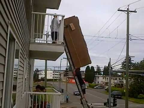 Guy Couch Ladder Youtube