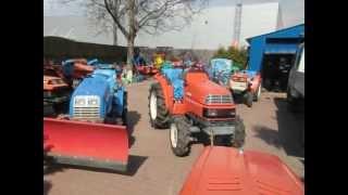 Mini traktorki ogrodnicze Warszawa. Sprzedaż mini ciągników. www.akant-ogrody.pl