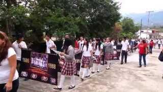 Tebaev El Espinal Desfile Conmemorativo 30 Aniversario 1984-2014