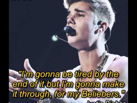 Amazing Justin Bieber's Quotes