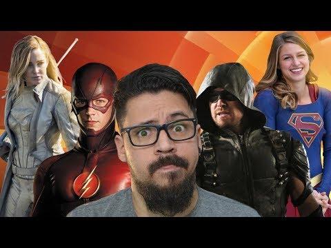 AS SÉRIES DA DC COMICS VOLTARAM NA CW! (QG NERD LIVE)