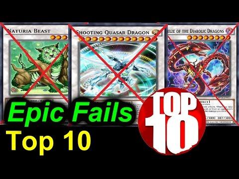 Top 10 Epic Fails - Yu-Gi-Oh Top List