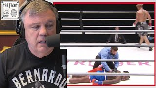 Teddy Atlas reacts to brutal Nate Robinson KO by Jake Paul