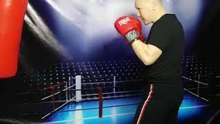Мини урок бокса 8. Как бить по груше ( мешку)