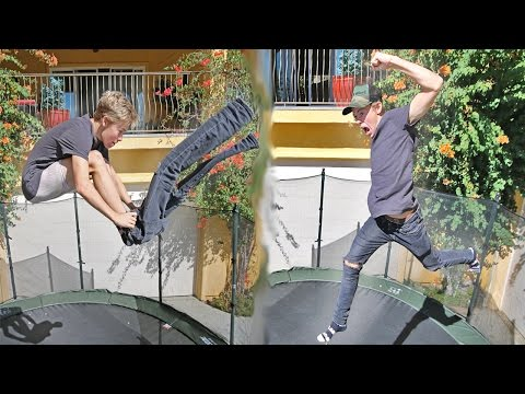 Thumbnail: BREAKING TRAMPOLINE WORLD RECORDS!