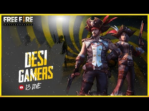 Garena Free Fire Live ( Ranked Match) - Desi Gamers