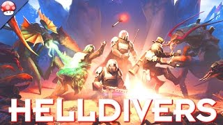 Helldivers Gameplay PC HD [60FPS/1080p]