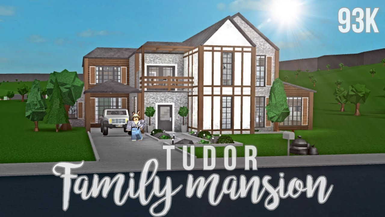 Bloxburg: Tudor Family Mansion 93K