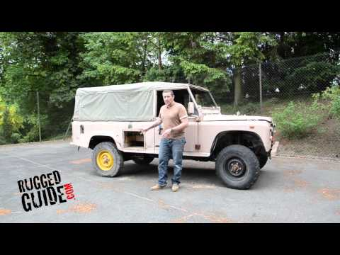 Ex Military Defender Land Rover 110 project vehicle