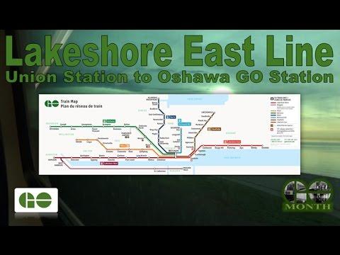 Lakeshore East Line - GO Transit 1987-89 Can-Car Rail Bilevell III 2247 (Union Stn to Oshawa GO Stn)
