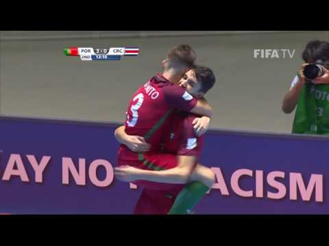 Match 41: Portugal v Costa Rica - FIFA Futsal World Cup 2016