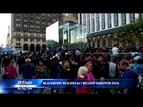 BlackBerry Reaches $4.7 Billion Takeover Deal