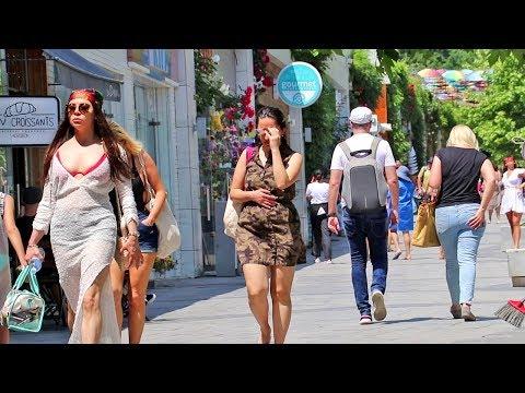 АРКАДИЯ Одесса / Прогулка по Аркадии: Аллея, Пляж, Море!
