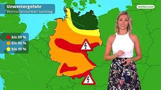 Wetter: Die aktuelle Vorhersage (09.06.2018)