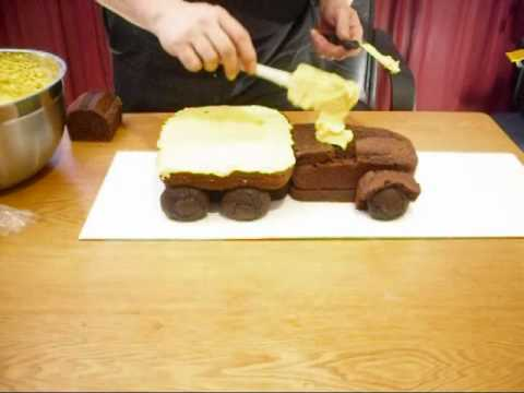 Garrys Truck Cake How To YouTube