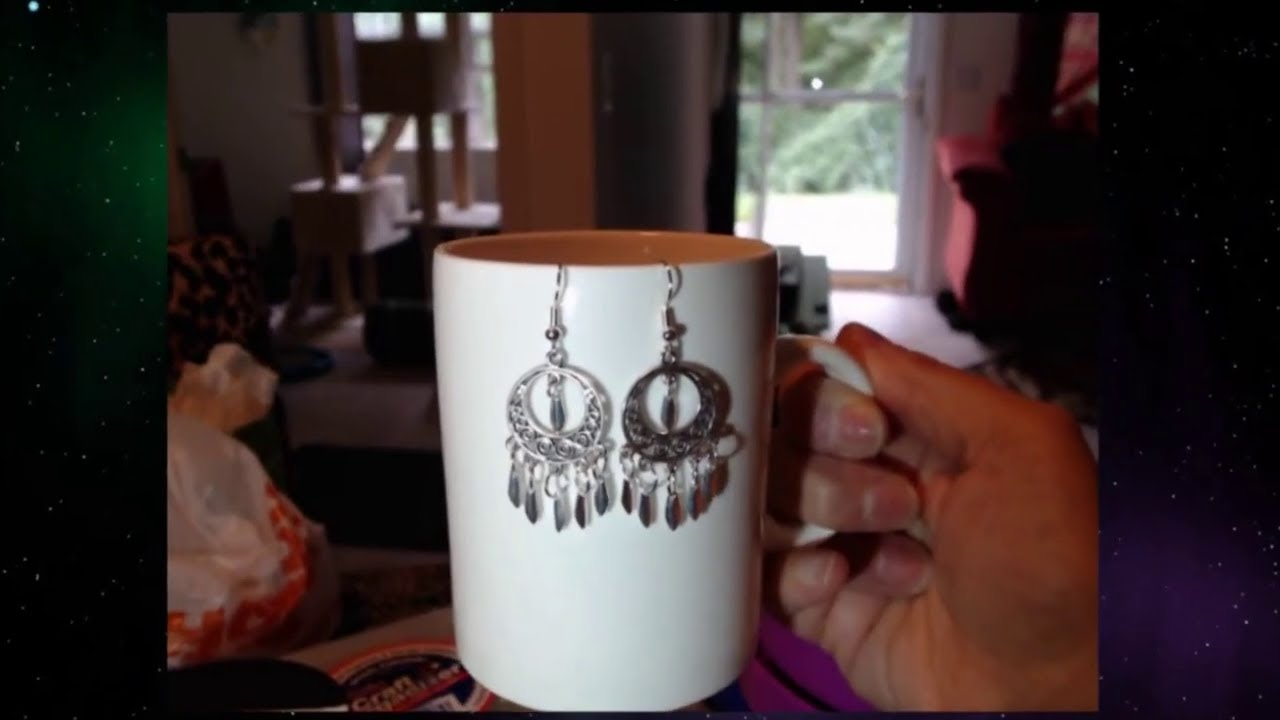 DIY ??Dangle Earring with Tear? drop charms(OLDER DIY VIDEO FROM SUMMER 2019)