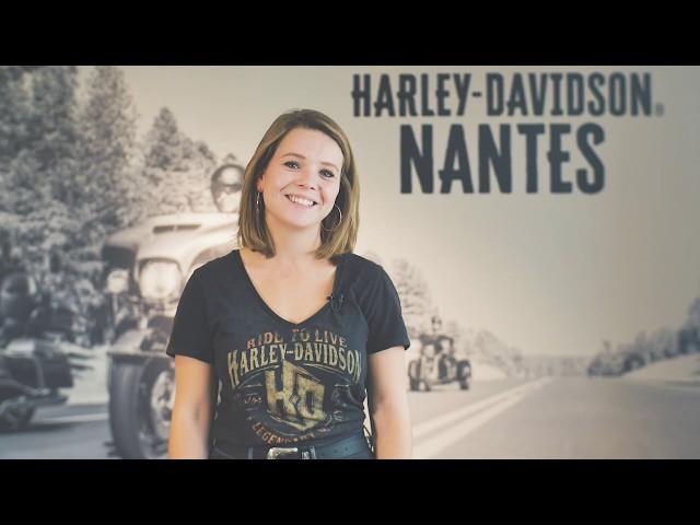 Portrait // Windy OBERRIEDER - Assistante Commerciale / Harley-Davidson Nantes