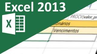 Aula de Excel 2013 - Criando pesquisa en...