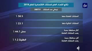 """""""الإحصاءات """": 23.1% من المنشآت الاقتصادية في الأردن خالية (6/1/2020)"""
