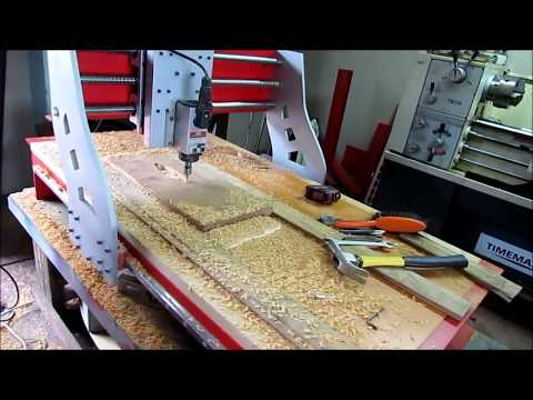 Usinando Relevos - CNC Router Metallab