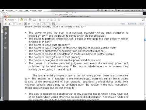 GTEN on Trustee Powers (Private Trust Education Series)