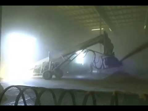 Gruber Portable Belt Conveyor w/ Slinger (Grain)