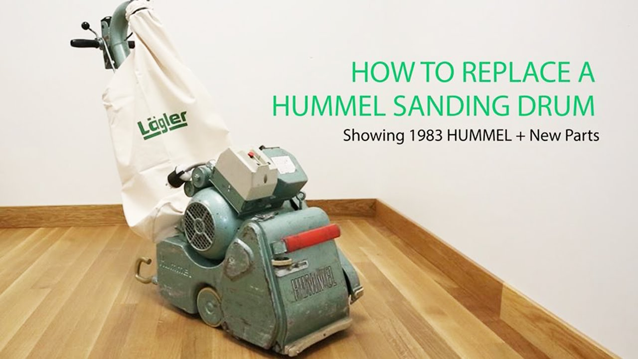 The How To Replace A Sanding Drum Video Lagler Hummel Youtube