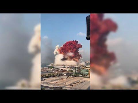 مشاهد من زوايا مختلفة لـ انفجار مرفأ بيروت  - نشر قبل 6 ساعة