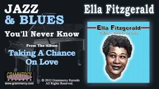 Watch Ella Fitzgerald Youll Never Know video